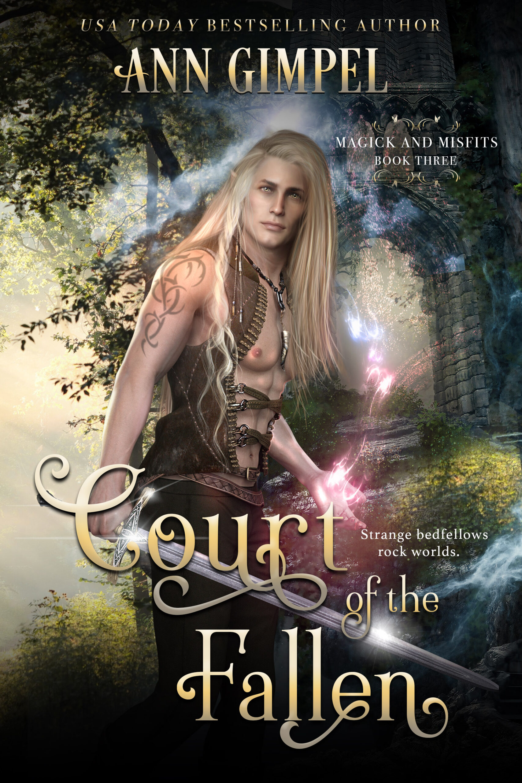 Court of the Fallen, Magick and Misfits Book Three