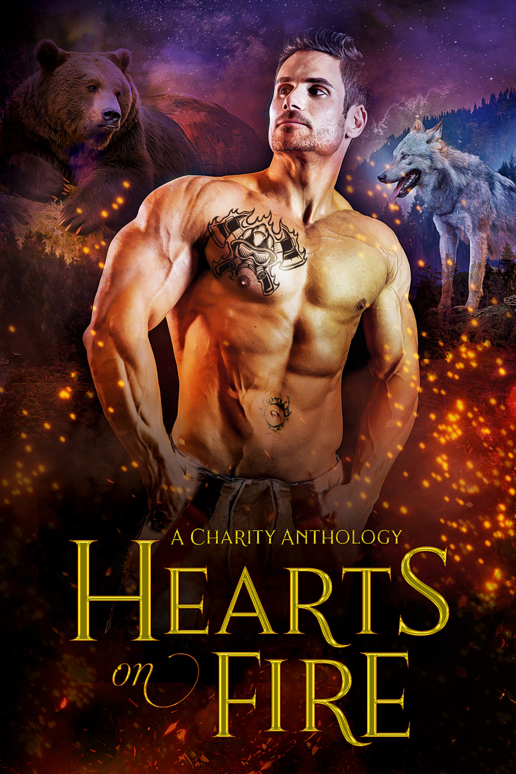 Hearts on Fire, A Charity Anthology