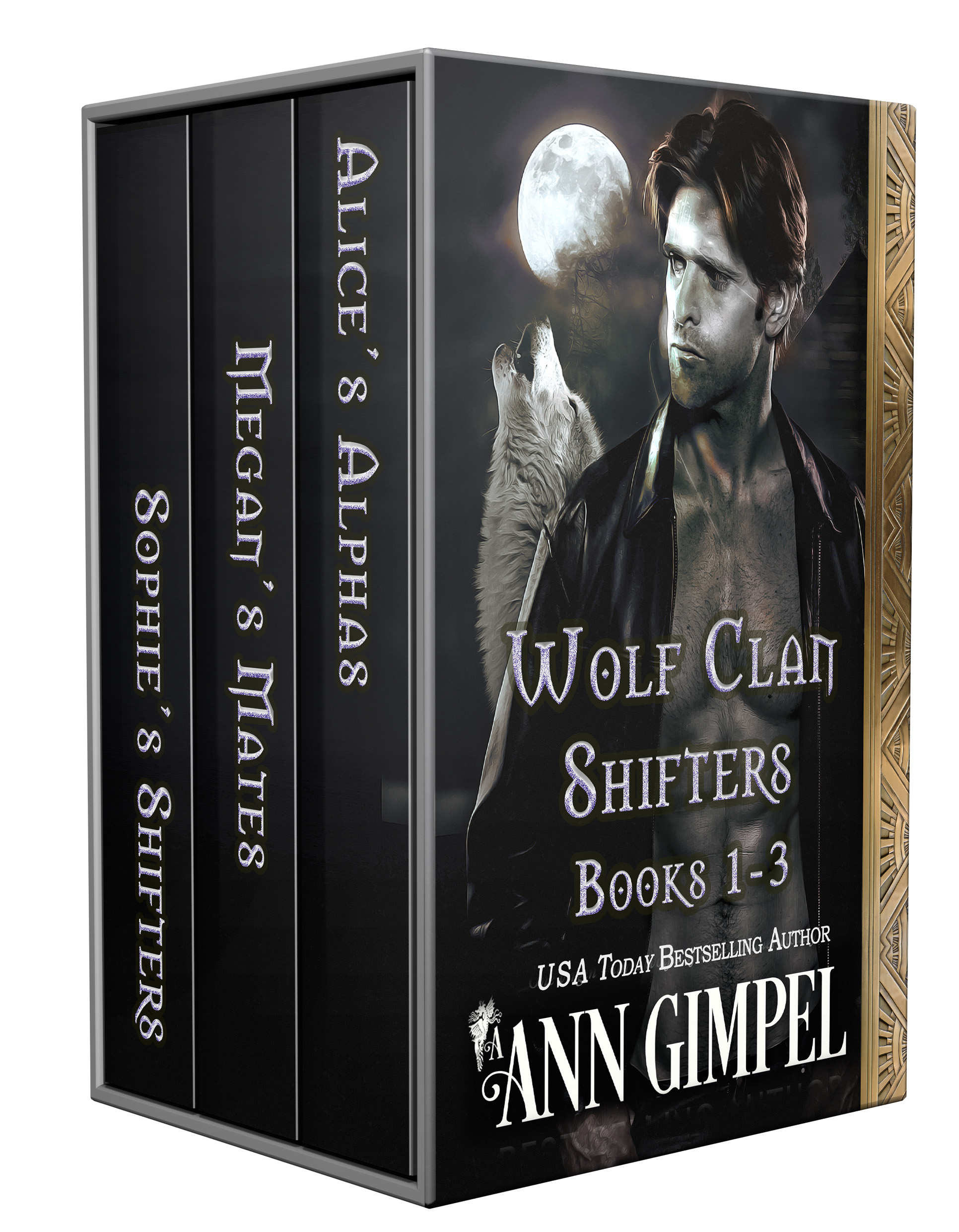 Wolf Clan Shifters, Books 1-3