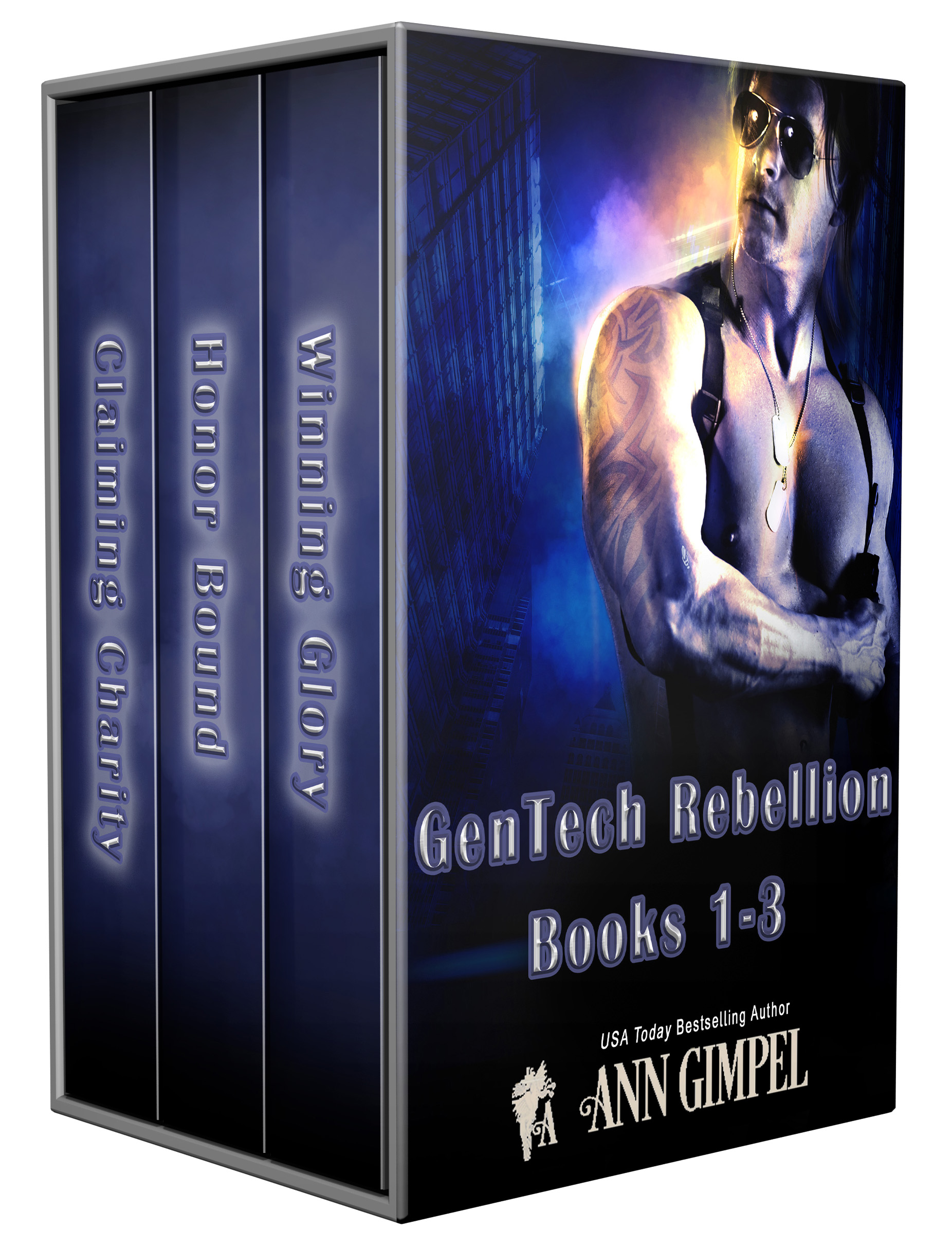 GenTech Rebellion, Books 1-3